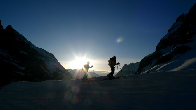 Tour de la Meije, un très beau raid à ski