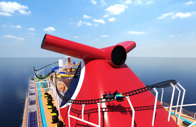 Mardi Gras Rollercoaster