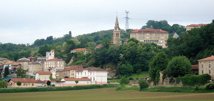 Sight of Châteauneuf-de-Galaure