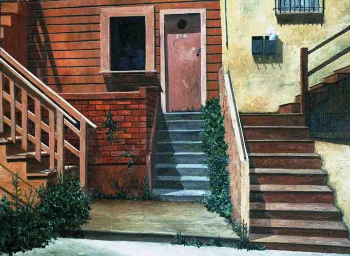 San Francisco 1999, óleo sobre lienzo 46X60 cm