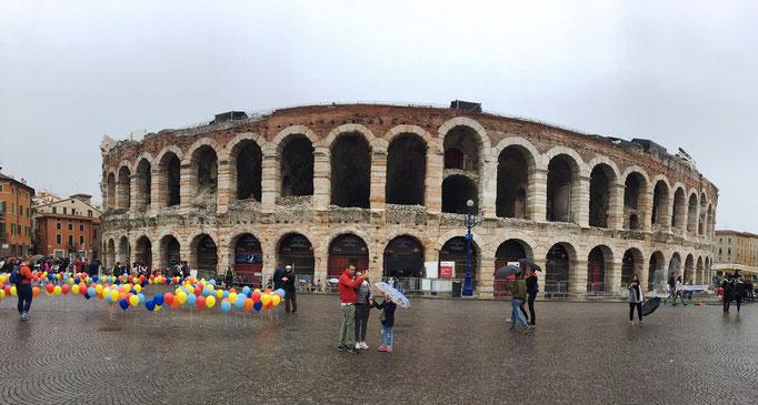 Arena di Verona Anfiteatro Romano Monumento Verona Veneto Piazza Bra Italia Patrimonio UNESCO