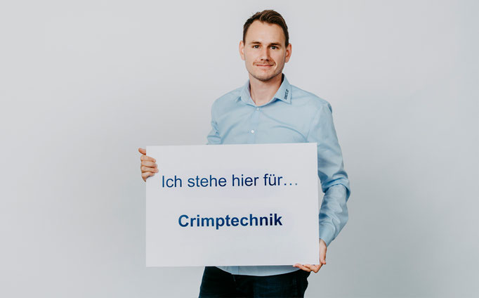 Crimptechnik Kurt Betz GmbH Crimpen Kabel Crimp Kabelschneidemaschine Technische Feedern Maschinenbau Heilbronn und Umgebung Winkler Yannik