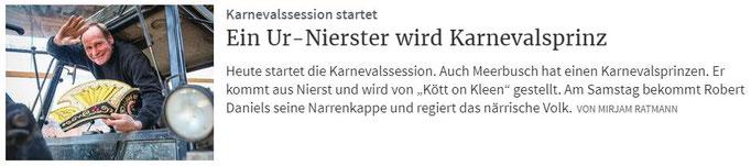 Rheinische Post 11.11.2019