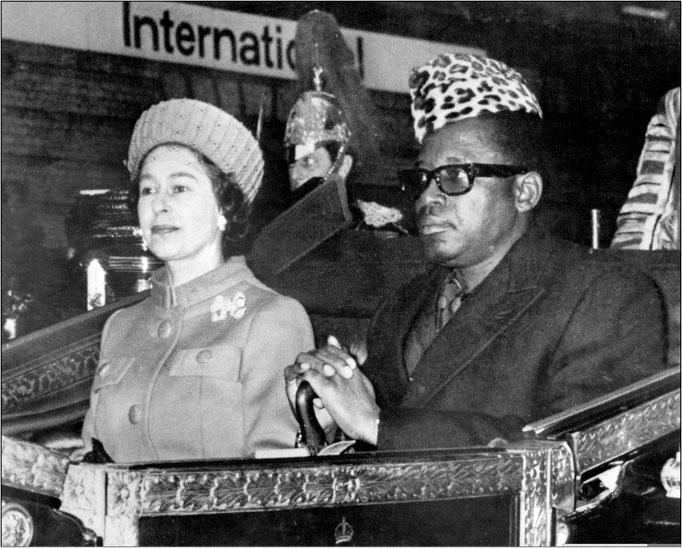 Mobutu Quenn Elisabeth Korruption