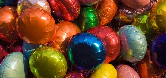como inflar globos metalicos