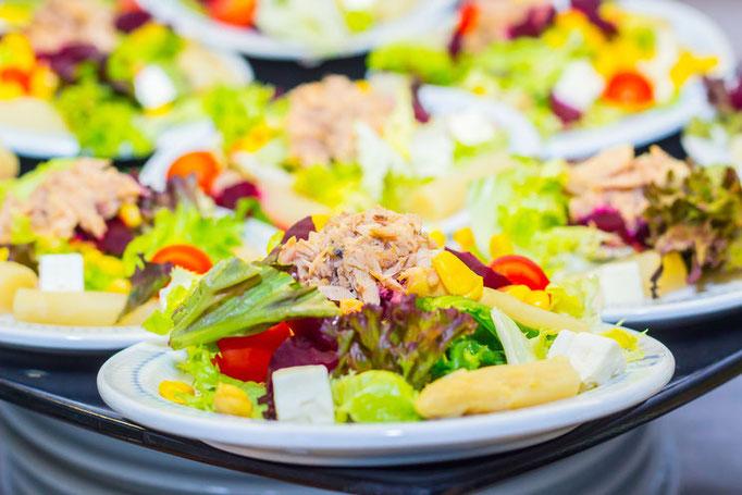 Gesunde Salate für den Sport