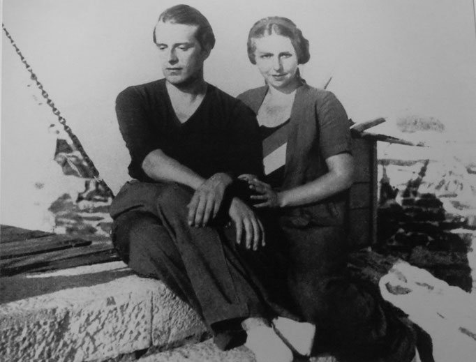 Rafael Alberti e Teresa de León