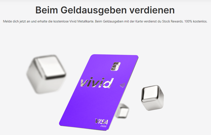 Vivid Money Cashback kriegen
