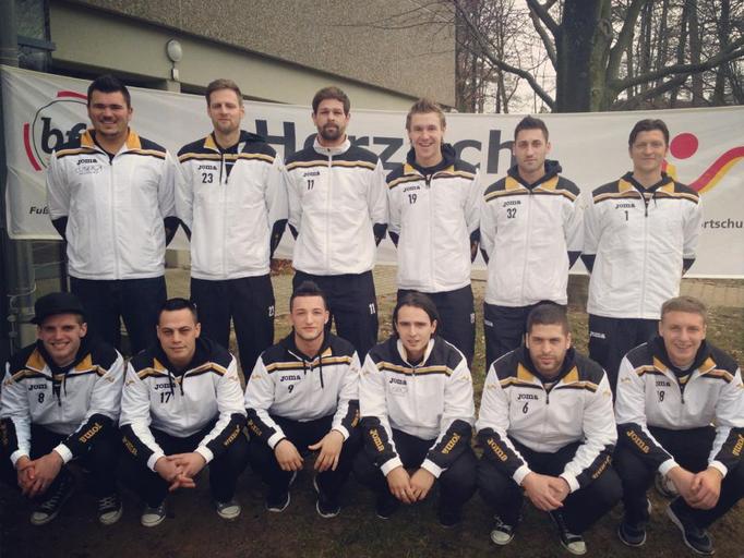 Futsal-Mannschaft des FCI - Saison 2012/2013