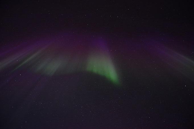 Nordlys - Polar Light - Nordlicht. Ballstad/Lofoten, 06.04.2014, 00:27 © Robert Hansen
