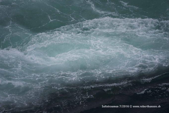 Im Kanal entstehen mächtige Wirbel © Robert Hansen