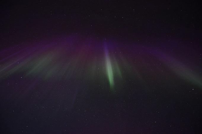 Nordlys - Polar Light - Nordlicht. Ballstad/Lofoten, 06.04.2014, 00:23 © Robert Hansen