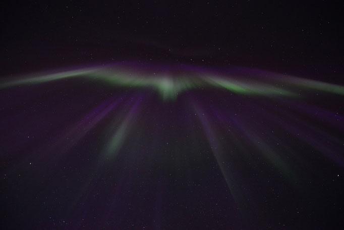 Nordlys - Polar Light - Nordlicht. Ballstad/Lofoten, 06.04.2014, 00:06 © Robert Hansen
