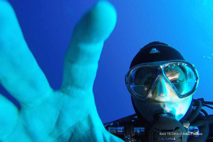 Selfie © Robert Hansen, Gozo Oktober 2015