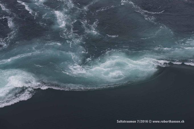 Die Strudel können kleine Boote in die Tiefe reissen © Robert Hansen