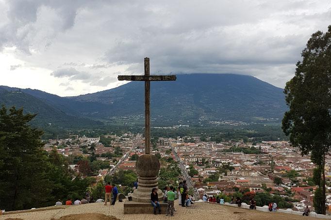"""Cerro de la Cruz""! Toller Aussichtspunkt."