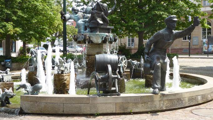 Wurstmarktbrunnen