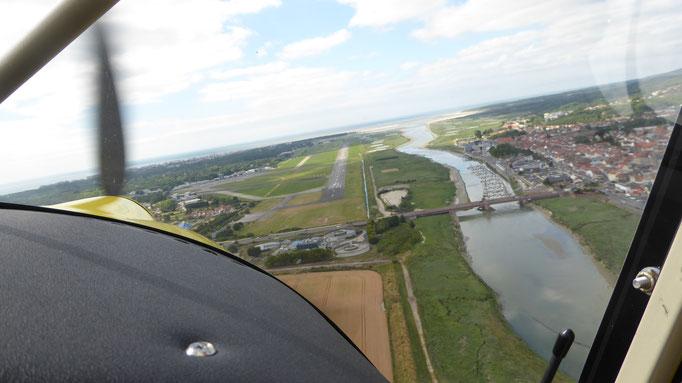 Approach Le Touquet