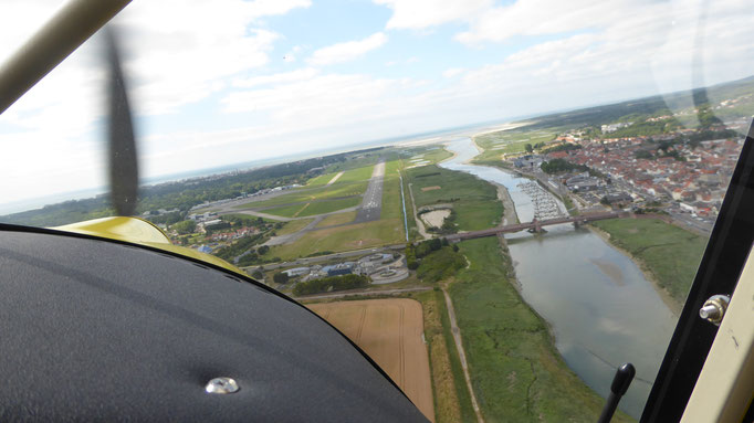 Approach Le Touquet