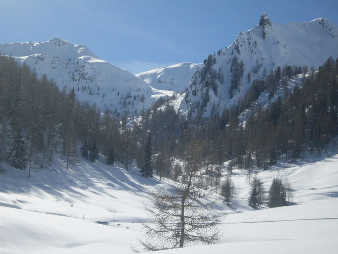 Das Tristenbachtal ist südtirolweit für seine schönen Skitouren bekannt