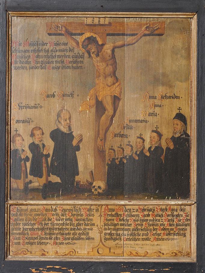 Die Totentafel von 1651
