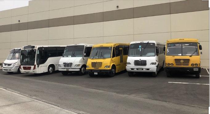 Renta de transporte escolar de personal y turismo en Ciudad de México