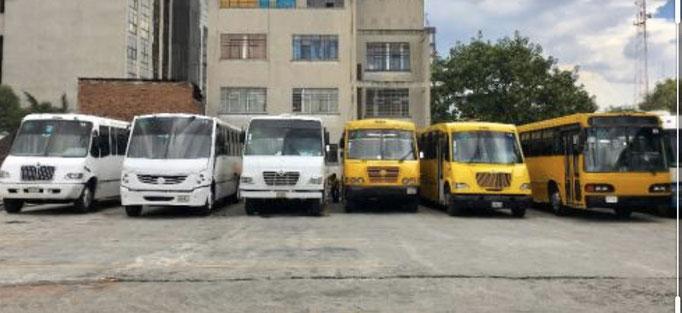 Transporte escolar y de personal en renta