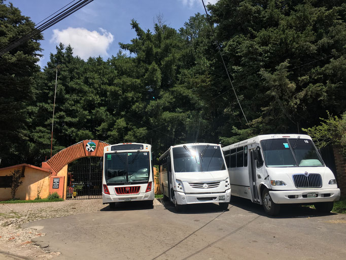Renta de camiones de turismo para excursiones, balnearios, parques, pueblos mágico