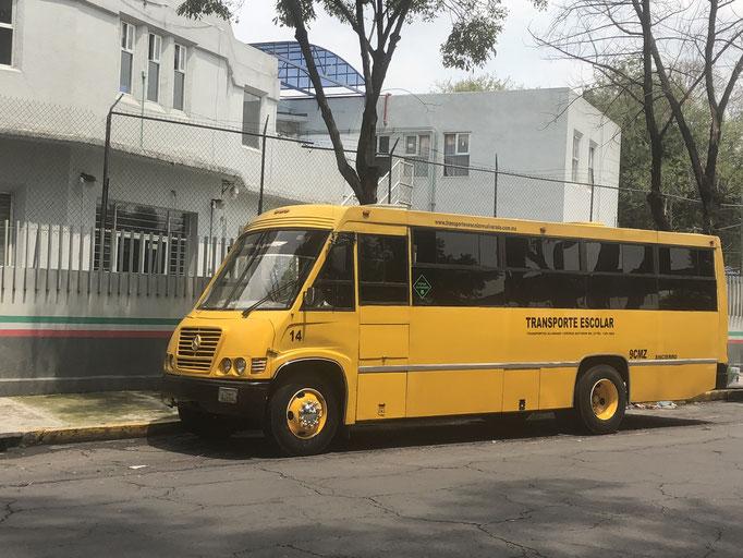 Renta de transportes escolares en Ciudad de México