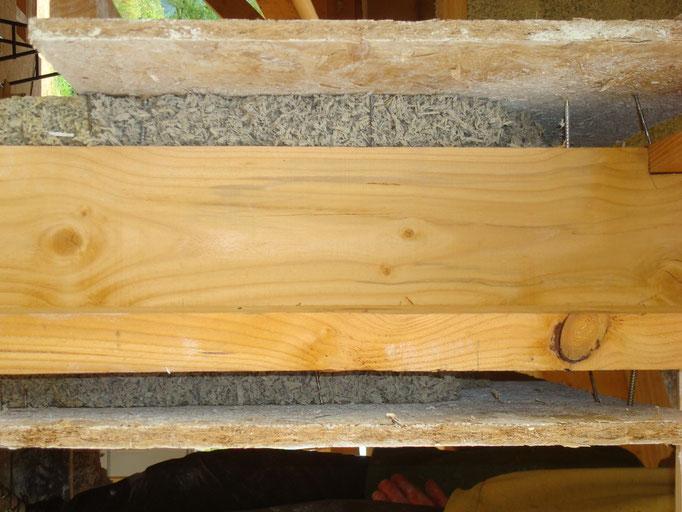 Construction poteaux poutre, isolation en béton de chanvre