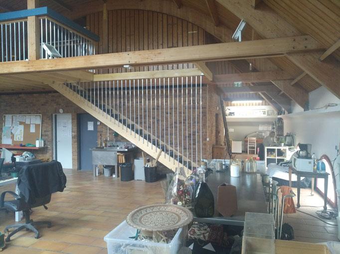 Escalier et mezzanine design