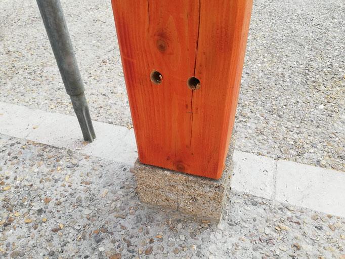 Carport charpente bois Bardos