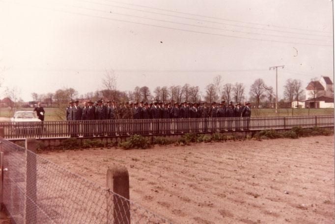 1974 Antreten beim König Heinz Strilziw