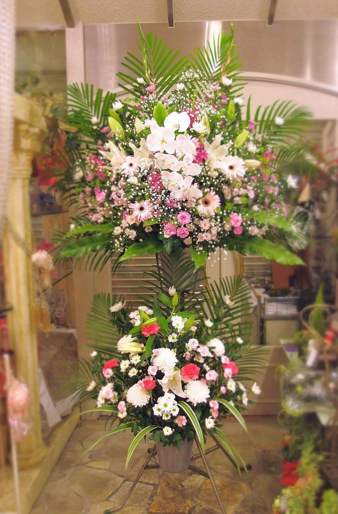 生花スタンド 二段(葬儀)