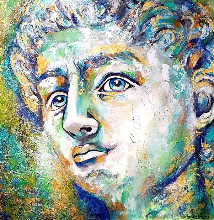 David (Michelangelo)...100x100 cm