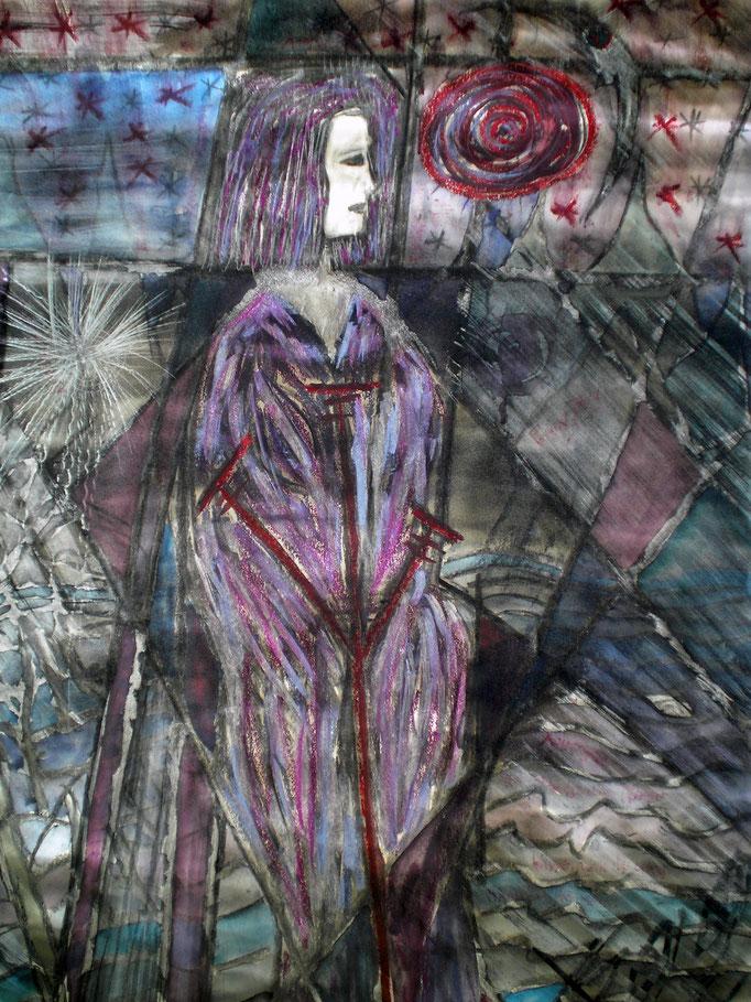 Wasser - Quelle des Lebens - 56 x 42 cm - 1993 - Mischtechnik - Malerei auf Papier