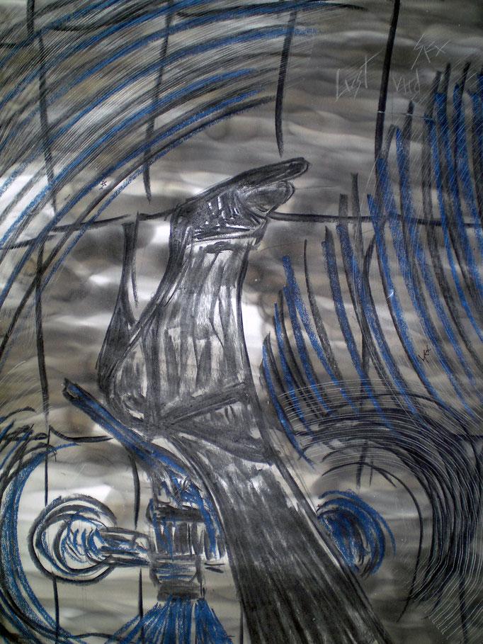 Lust & Sex - 56 x 42 cm - 1993 - Mischtechnik - Malerei auf Papier