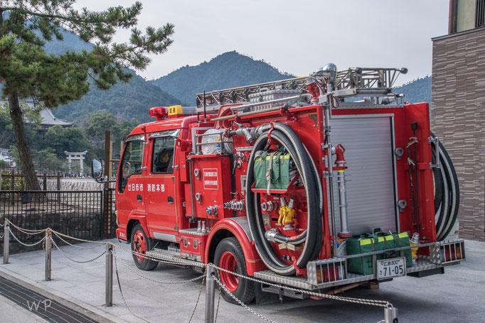 Dani wird's freuen: Japanisches Feuerwehr-Auto...