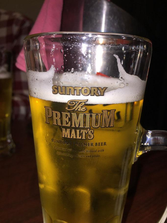 Bier, Japaners Hauptgetränk