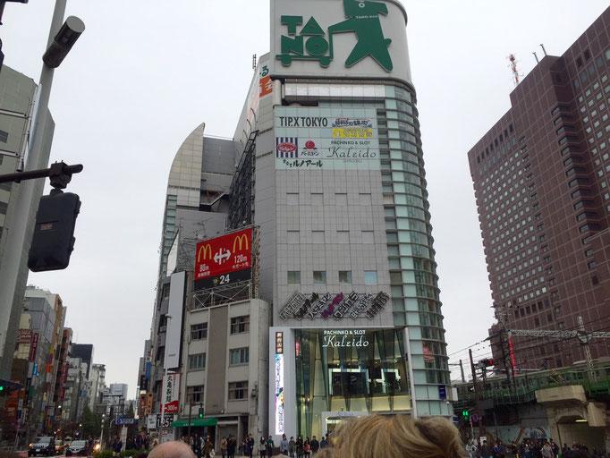 Eindrücke der Strassen von Tokio