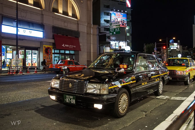 Die Taxis, sie gefallen mir