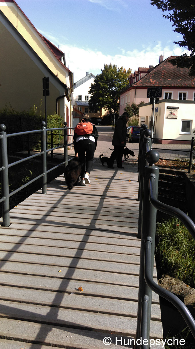 Engstelle Brücke