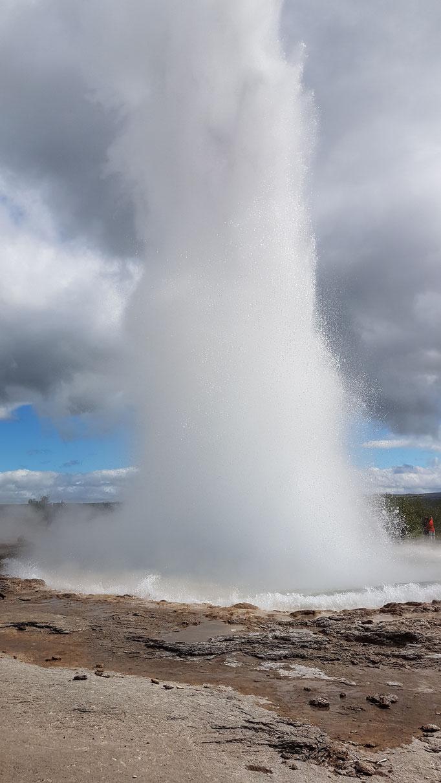 Strokkur, Island