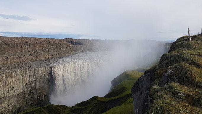 Dettifoss, Island - Der größte Wasserfall Europas