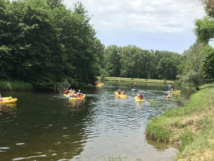 Plan d'eau de Tauriac : balade au fil de l'eau
