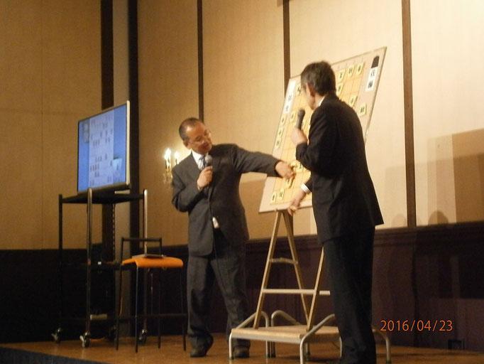 寅彦先生と石川先生