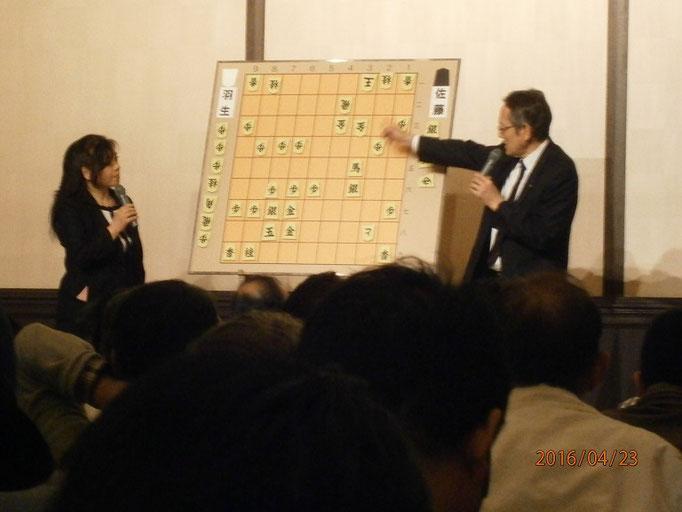 寅彦先生と千和子先生、息がピッタリ!