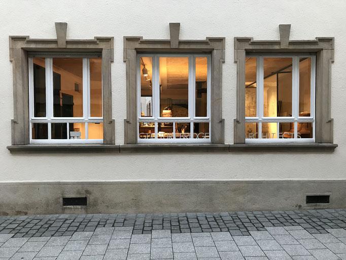 unser Besprechungszimmer an der Fußgängerzone Grünstadt