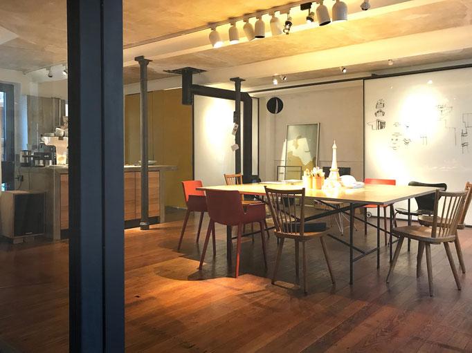 Besprechungszimmer von Culturebridge Architects im Weinhaus Moser