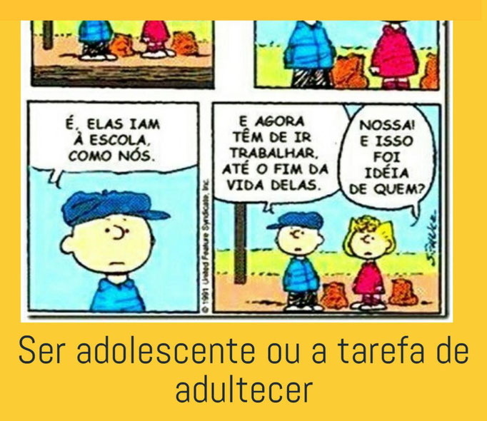 Ser Adolescente ou a Tarefa de Adultecer